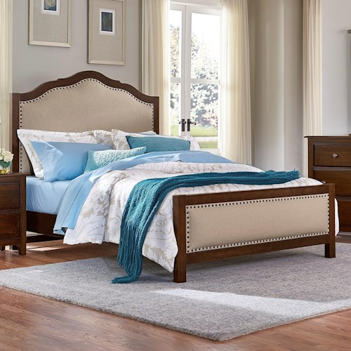Artisan & Post by Vaughan Bassett Artisan Choices King Upholstered Bed