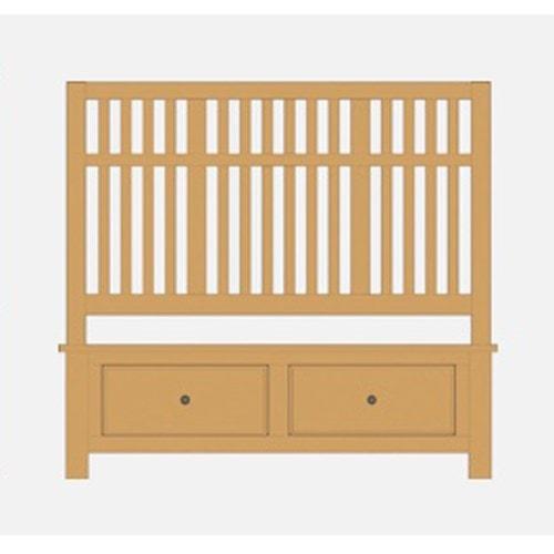 Artisan & Post Artisan Choices King Craftsman Slat Storage Bed