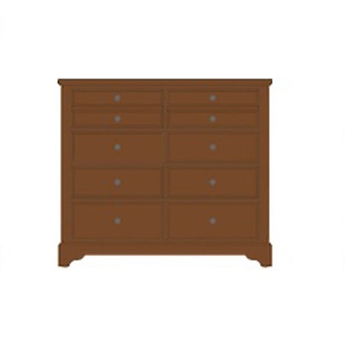 Artisan & Post Artisan Choices Solid Wood Villa Media Dresser - 8 Drawers
