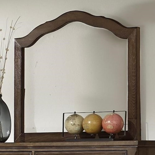 Artisan & Post by Vaughan Bassett Artisan Choices Villa Arched Mirror