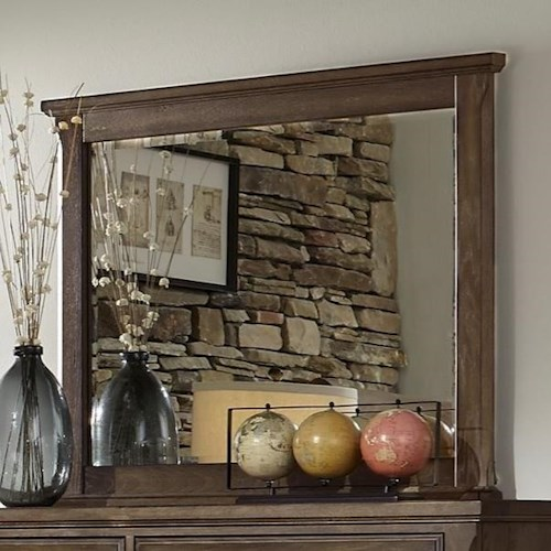 Artisan & Post by Vaughan Bassett Artisan Choices Villa Landscape Mirror