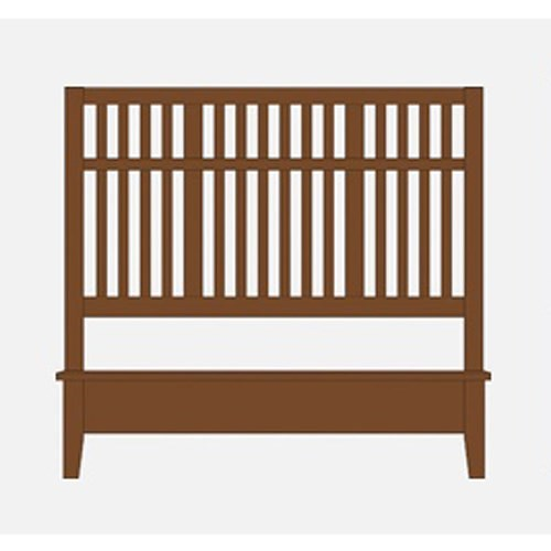 Artisan & Post by Vaughan Bassett Artisan Choices King Craftsman Slat Bed w/ Low Profile Footboard