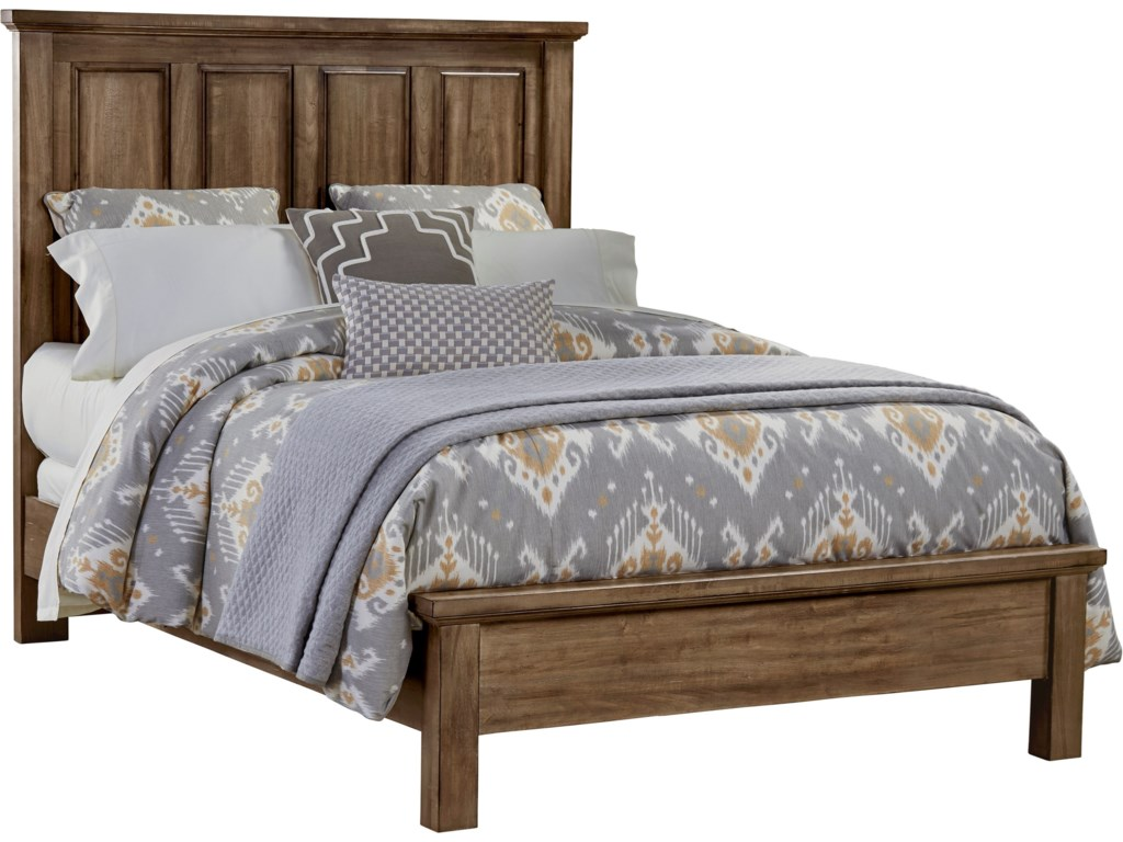 Queen Size Bed Shown. King Size Bed Has 5 Headboard Panels.