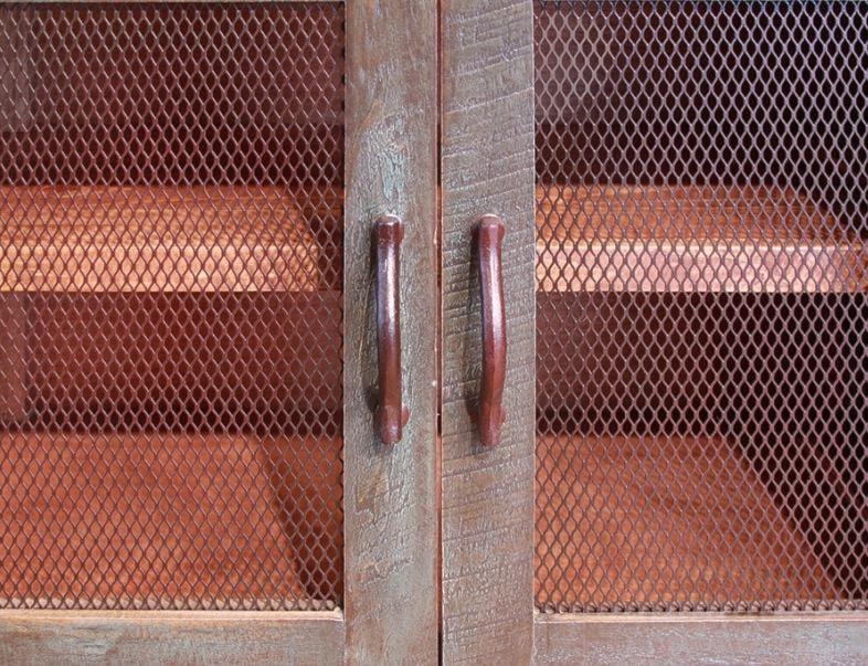 Iron Mesh on Doors