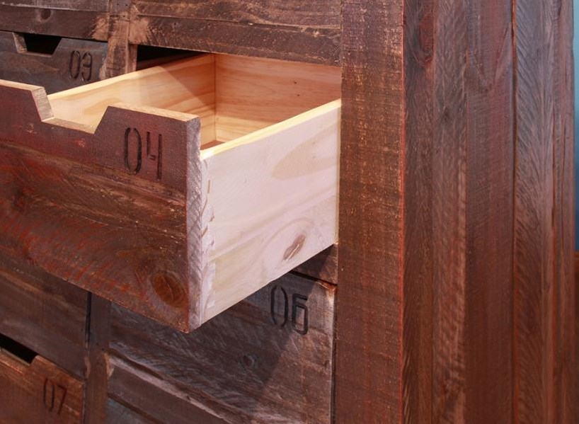 Functional Drawers with Wood Stops
