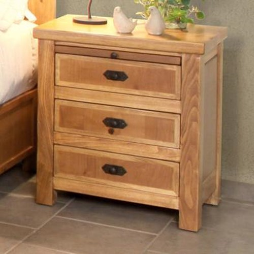 International Furniture Direct Lodge Night Stand