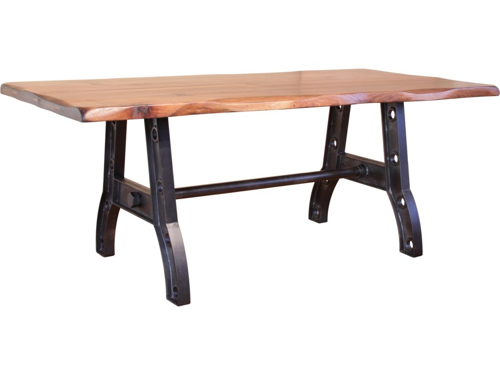 Kitchen Furniture Direct International Furniture Direct Parota Trestle Table With An