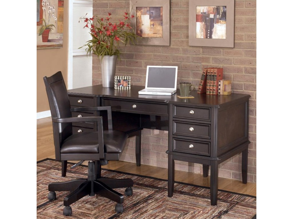 Shown with Desk Arm Chair