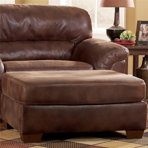 Ashley Furniture Frontier - Canyon  Upholstered Ottoman