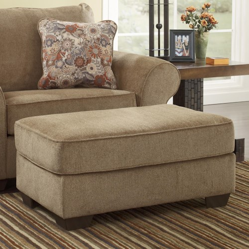 Ashley Furniture Galand - Umber Rectangular Ottoman