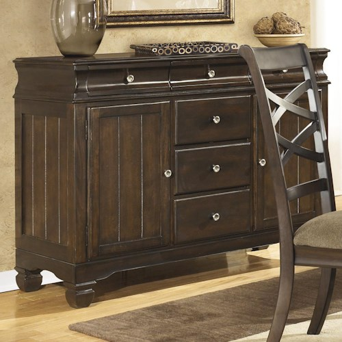 Ashley Furniture Hayley Buffet