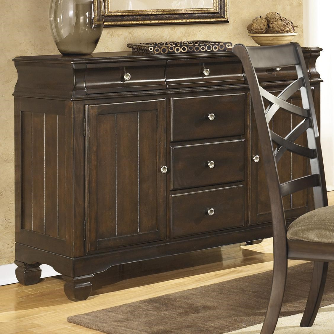 Amazing Ashley Furniture Hayley Buffet