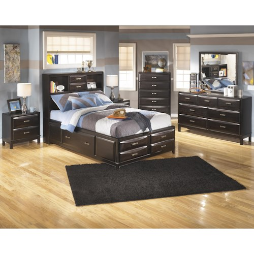 Ashley Furniture Kira Full Bedroom Group