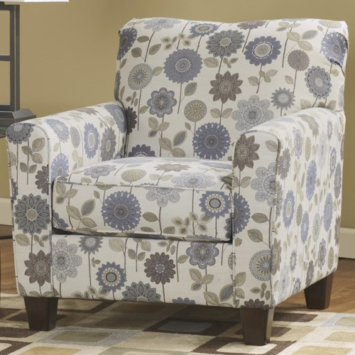 Ashley Furniture Kreeli - Accents Petite Accent Chair w/ Tapered Legs
