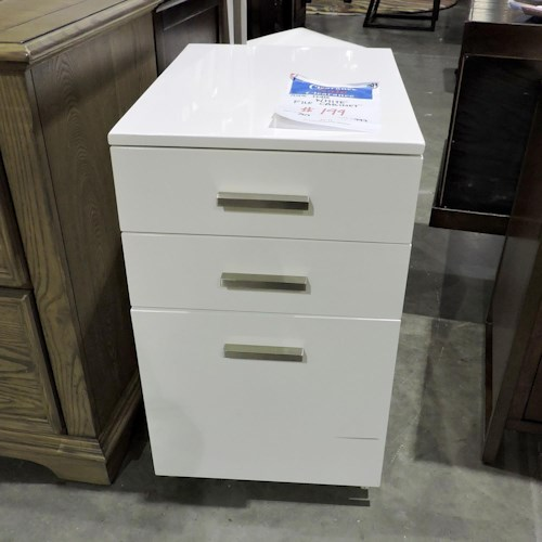 Ashley Furniture Clearance White File Cabinet