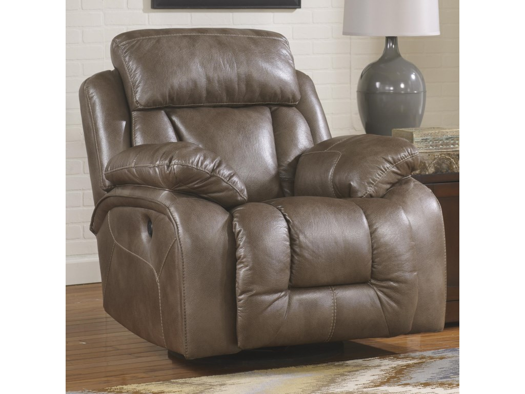 Recliner Shown May Not Include Exact Features Indicated