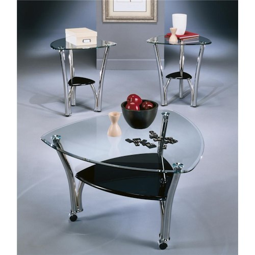 Signature Design by Ashley Pascal 3-in-1 Pack Occasional Table Group