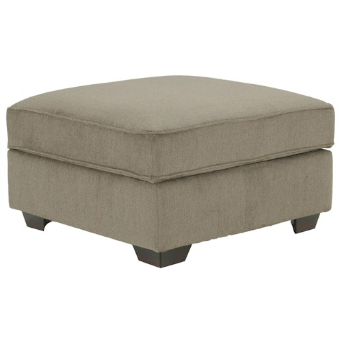 Ashley Furniture Patola Park - Patina Square Cocktail Ottoman With Storage