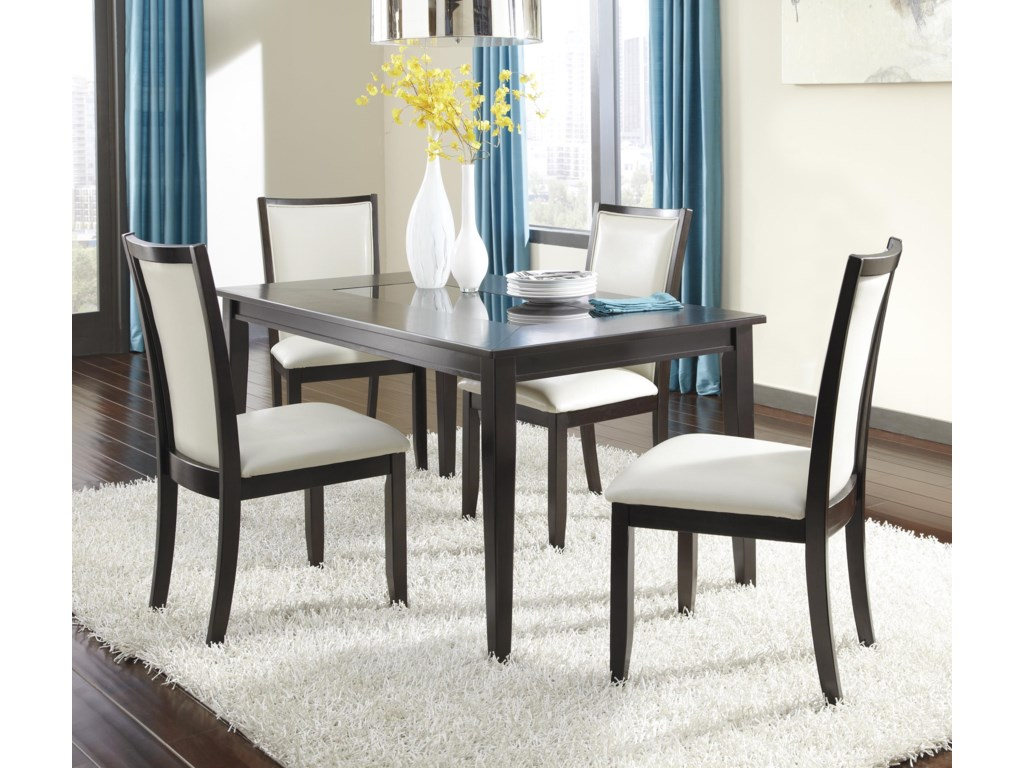 Ashley Furniture Kitchen Table Ashley Furniture Trishelle 5 Piece Rectangular Dining Table Set
