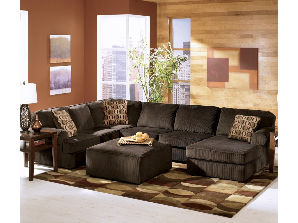 Shown in Room Setting with Sectional