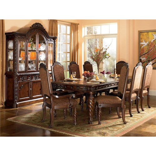 Millennium North Shore 9Pc Dining Room