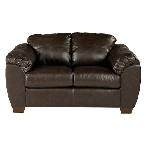 Millennium Franden DuraBlend - Cafe Contemporary Upholstered Love Seat