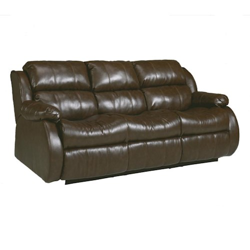 Millennium Mollifield DuraBlend® - Café Reclining Sofa with Drop Down Table & Massage