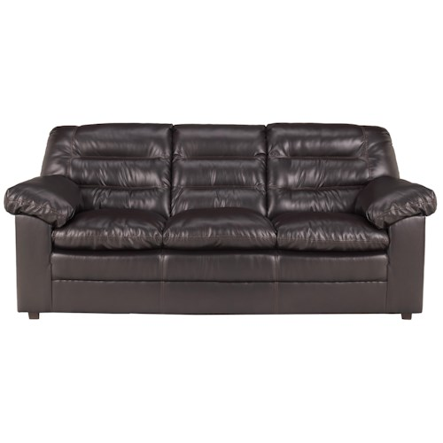 Millennium Knox DuraBlend - Coffee Casual Split Back Sofa