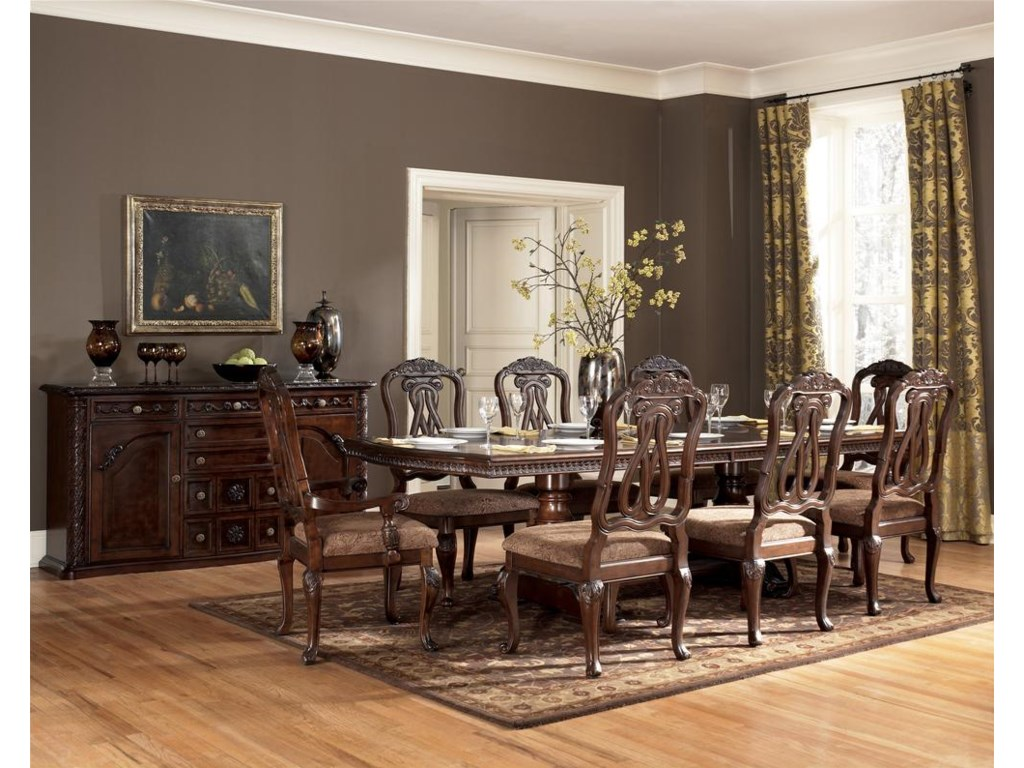 Shown with Double Pedestal Table