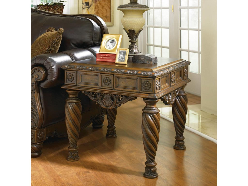 North Shore Living Room Set Millennium North Shore Square End Table Del Sol Furniture End