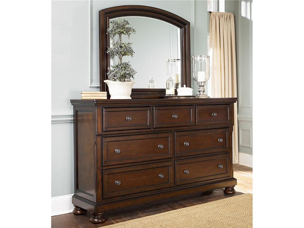 Shown with Dresser Mirror