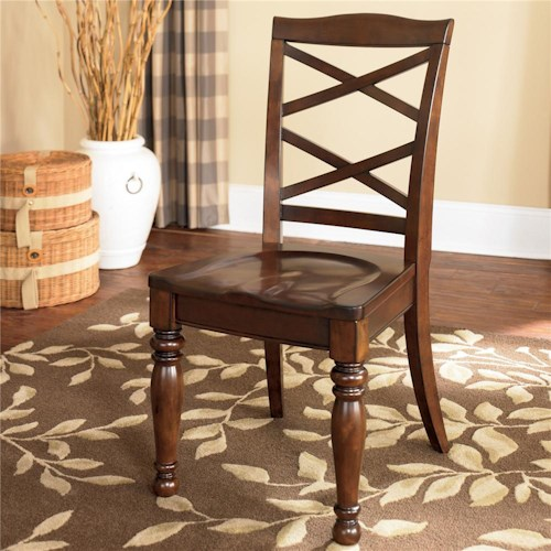 Ashley Furniture Porter Double X Back Side Chair