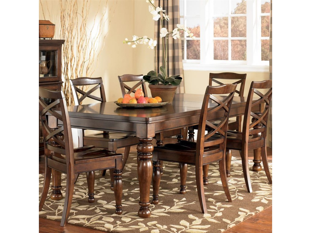 Ashley dining room furniture - Ashley Furniture Porter House Rectangular Extension Dining Table Furniture And Appliancemart Dining Tables