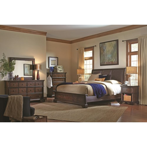 Aspenhome Bancroft King Bedroom Group
