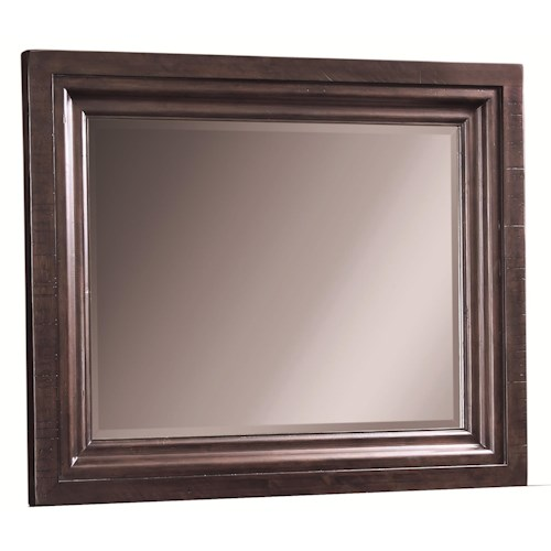 Aspenhome Bayfield Beveled Dressing Chest Mirror