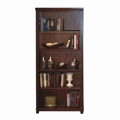 Morris Home Furnishings Clinton 72-Inch Standard Bookcase