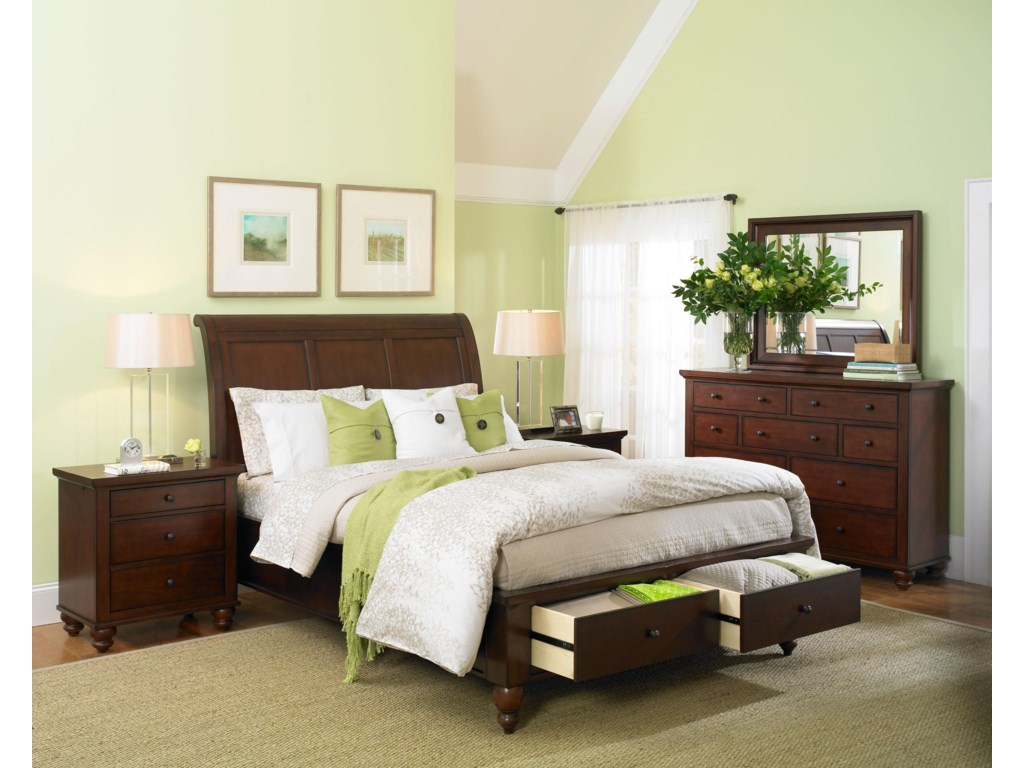 Shown with Liv360 Nightstand, Chesser, and Mirror