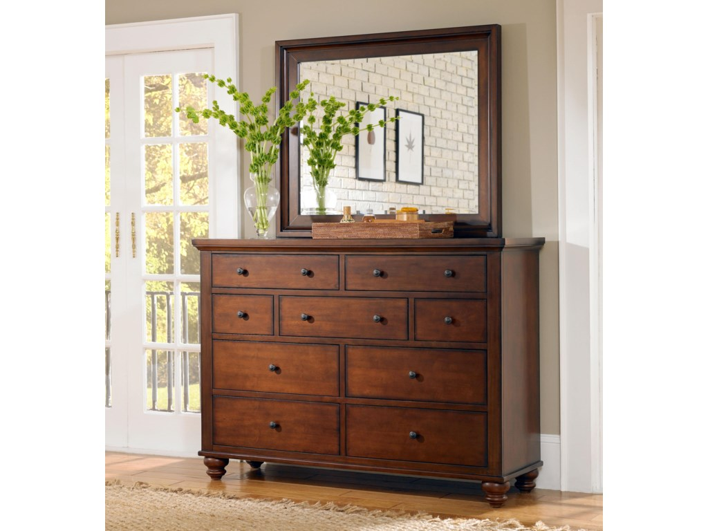 Shown with matching dresser