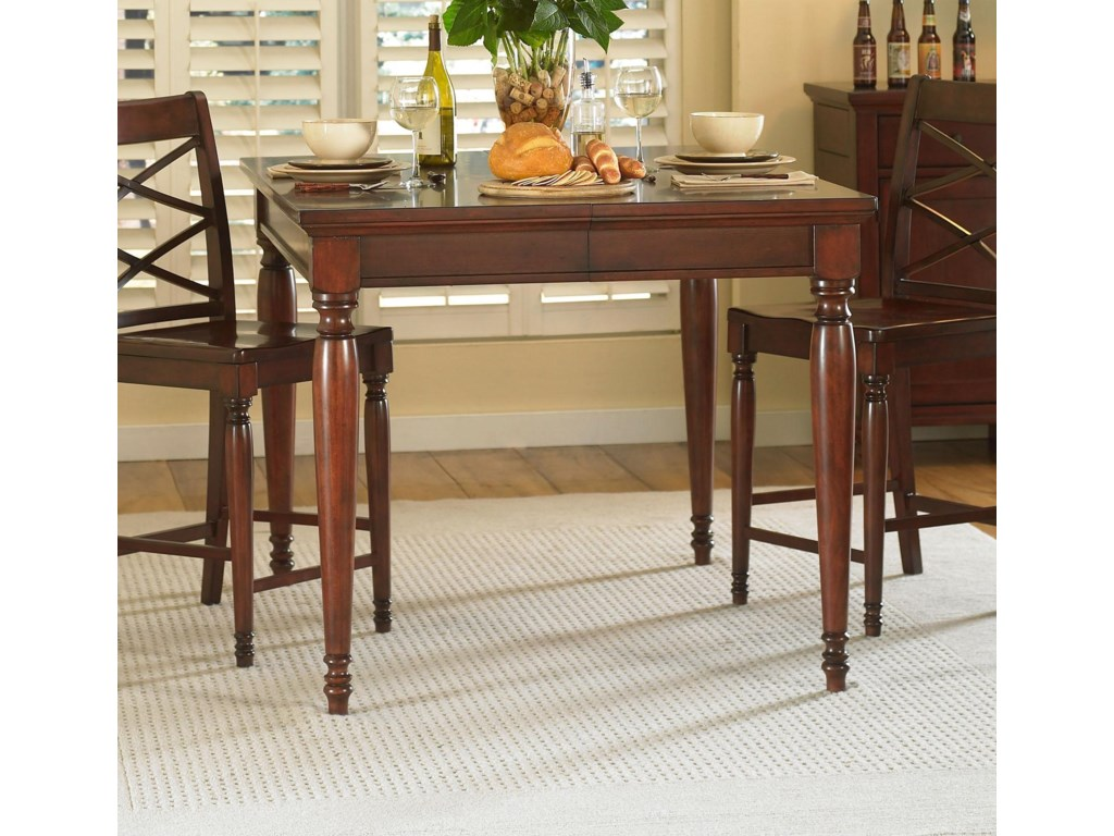 Shown with server and counter height chairs
