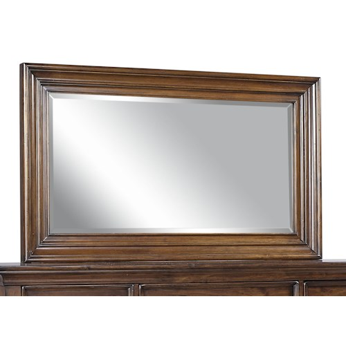 Aspenhome Camden Master Chest Beveled Glass Mirror