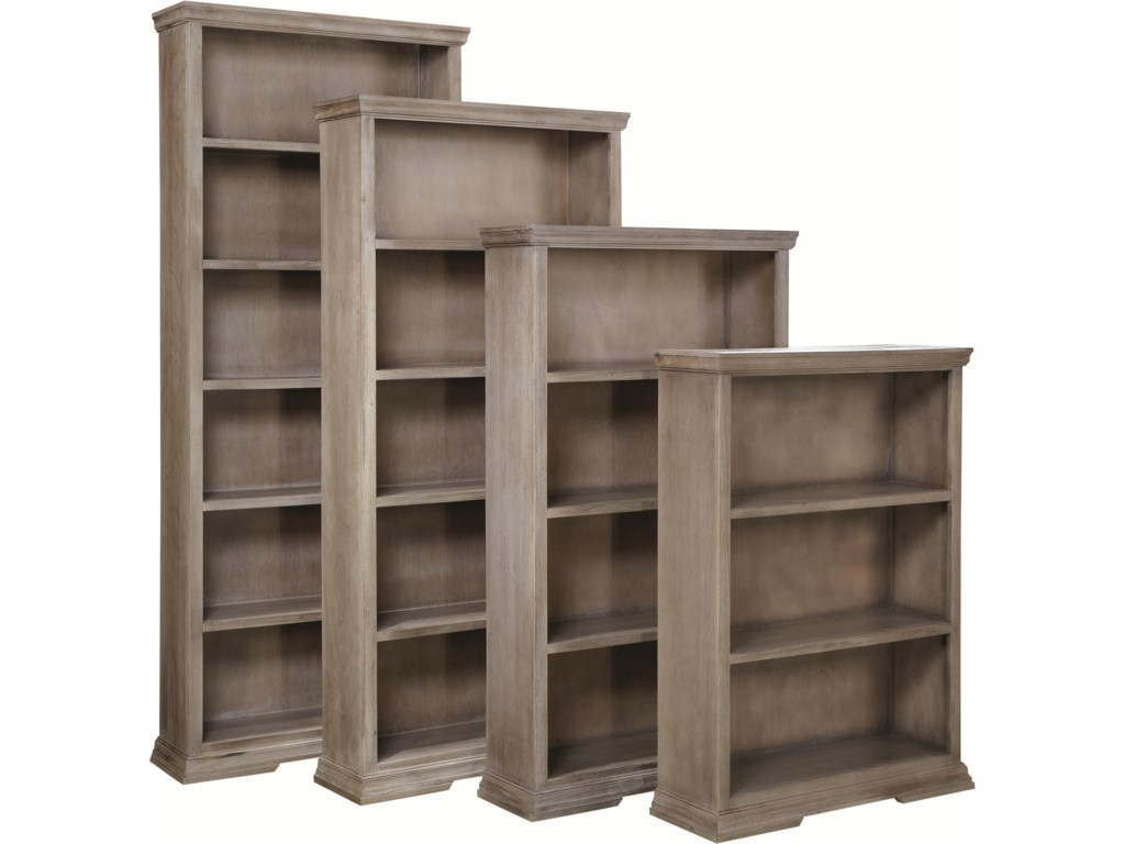 Shown with 84-Inch, 72-Inch and 48-Inch Bookcases