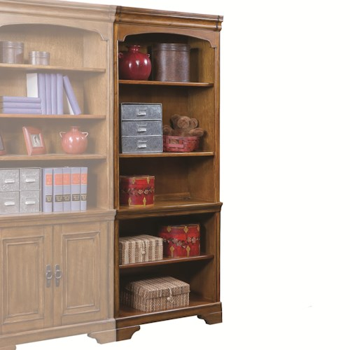 Aspenhome Centennial Bunching Bookcase with 4 Shelves