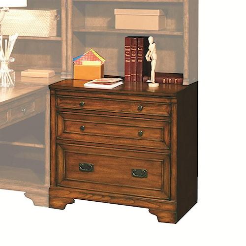 Morris Home Furnishings Centennial Modular 32-Inch Drawer/File Unit