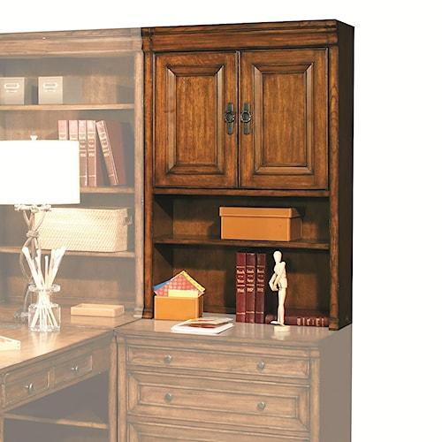 Morris Home Furnishings Centennial Modular Office Door Hutch