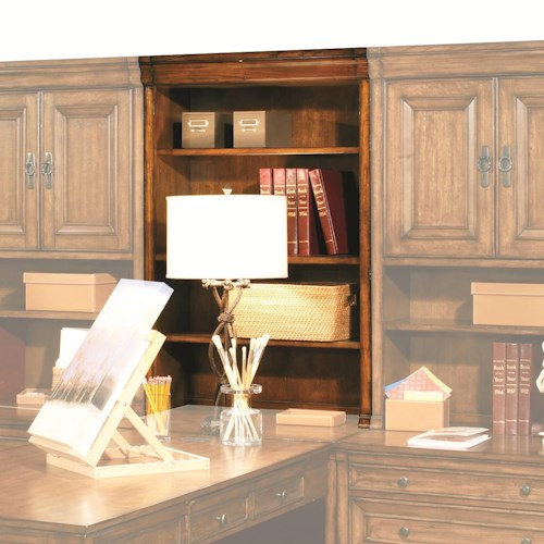 Morris Home Furnishings Centennial Modular Office Open Hutch