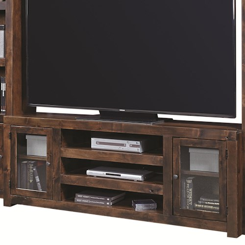 Aspenhome Contemporary Alder 72 Inch Console with 2 Doors