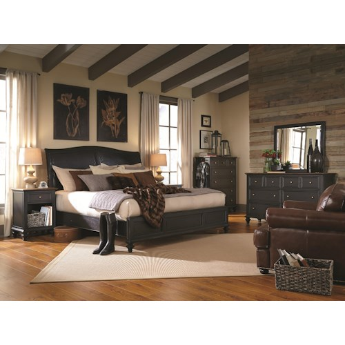 Aspenhome Ravenwood California King Bedroom Group 1
