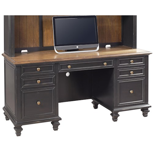 Aspenhome Ravenwood Credenza  with Pullout Printer Tray