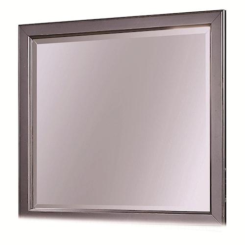 Aspenhome Ravenwood Square Dresser Mirror with Wooden Frame