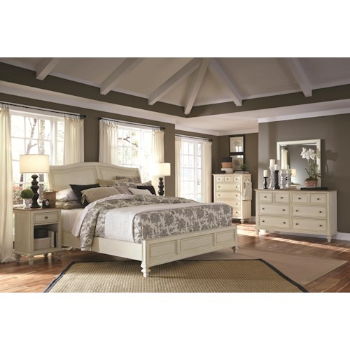 Aspenhome Cottonwood King Bedroom Group 1